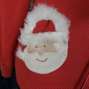 Collectibles, ETC Tops - Vintage Santa Christmas Hoodie, Medium